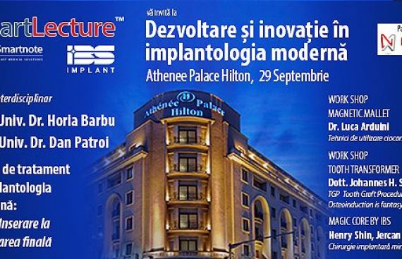 Dezvoltare si inovatie in implantologia moderna 2018