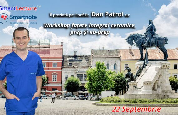 Workshop fatete integral ceramice, prep si no-prep